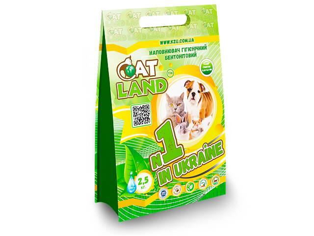 """Наполнитель """"Cat Land"""" 2,5 кг.- объявление о продаже  в Константиновке"""