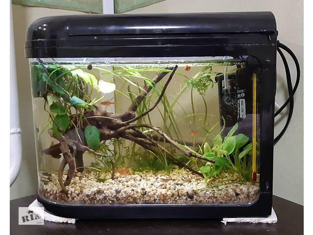 Новый аквариум 7л + оборудование. Нана аквариум- объявление о продаже  в Одессе