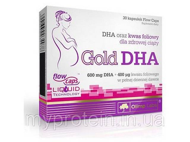 продам OLIMP Вітаміни для вагітних Gold DHA (30 caps) Art. mypr-350873531 бу в Харкові