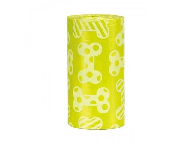 купить бу Пакети Trixie для прибирання за собаками, 4 рулони по 20 пакетів, розмір M (поліетилен) в Києві