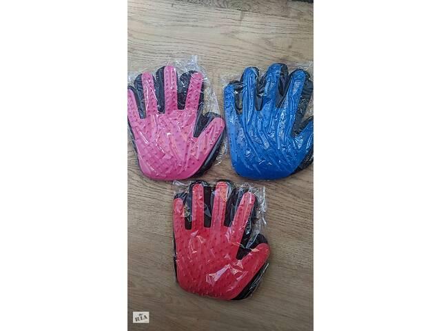 купить бу Перчатка для вычесывания шерсти животных True Touch в Киеве