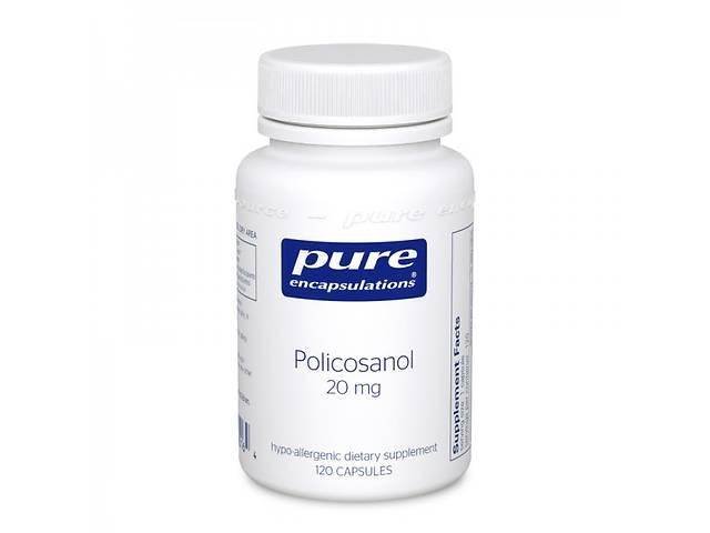 купить бу Поликозанол Pure Encapsulations 20 мг 120 капсул (32657) в Киеве