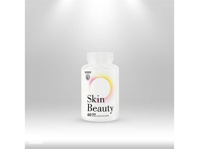 купить бу Swedish Supplements Beauty Skin, caps 60 в Дубні