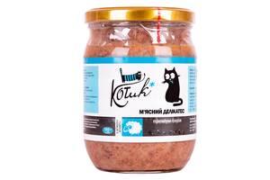 Влажный корм для кошек КОТиК мясной деликатес с мясом ягненка 500 г