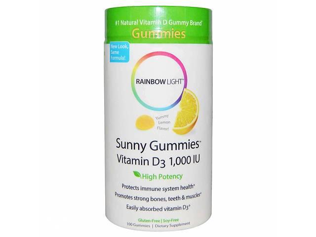 продам Витамин Д3, Rainbow Light, лимон, 1000 МЕ, 100 таблеток (5594) бу в Киеве