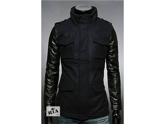 Зимняя черная куртка из кашемира- объявление о продаже  в Черкассах