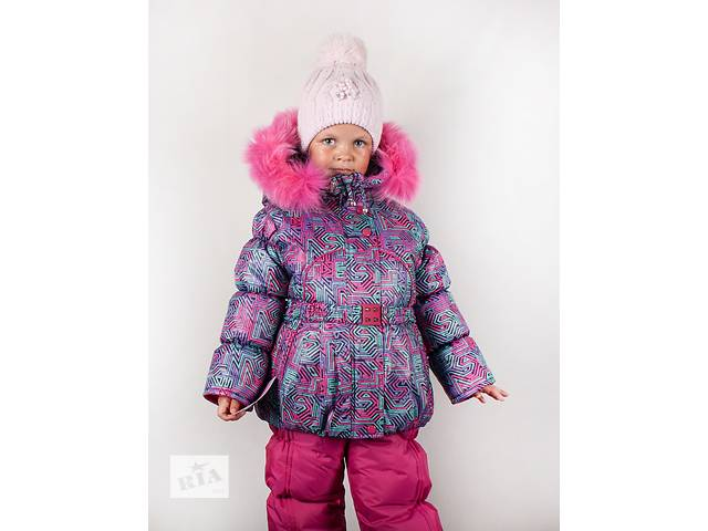 купить бу Розпродаж Зимова курточка і напівкомбінезон на дівчаток 1-5років  в Харкові 04b991a8e8a46