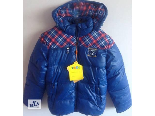 купить бу Зимові куртки+ Жилет на овчині для хлопчиків 8(128см) 220b7ceba1850