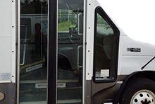 Стекло двери для автобусов