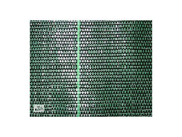 бу Сетка для ограждения ПП210 (зеленая) 2*50м