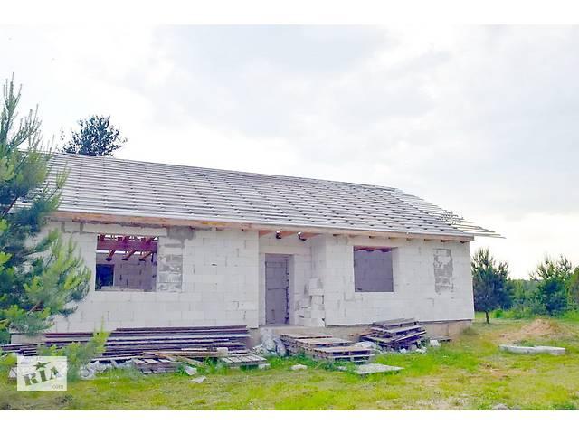 купить бу Дом 50% готовности на берегу озера в а.г. Бегомль.