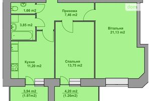 Куплю двухкомнатную квартиру на Петрикове без посредников