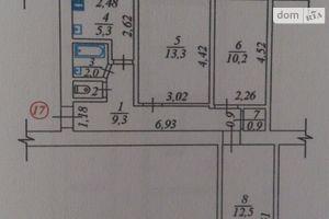 Продається 3-кімнатна квартира 56 кв. м у Жмеринці