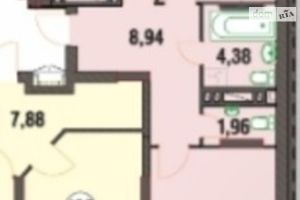Продается 1-комнатная квартира 63 кв. м в Хмельницком
