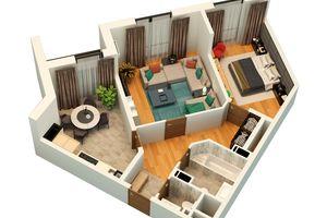 Продається 2-кімнатна квартира 67.06 кв. м у Львові