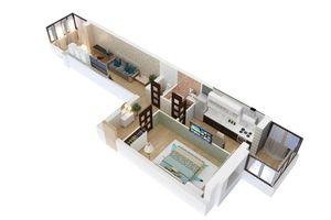 Продается 2-комнатная квартира 75 кв. м в Житомире