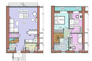 Продається будинок 2 поверховий 87 кв. м з бесідкою