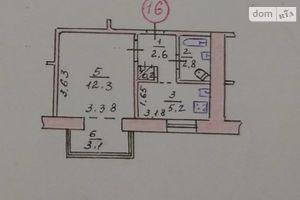 Продается 1-комнатная квартира 24 кв. м в Тернополе