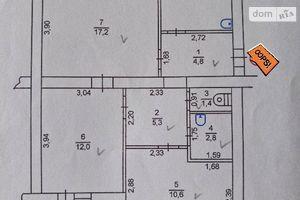 Продається 3-кімнатна квартира 67.3 кв. м у Гнивані