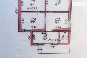 Продается одноэтажный дом 65 кв. м с бассейном