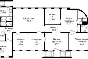 Продается офис 320 кв. м в нежилом помещении в жилом доме