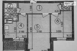 Продается 2-комнатная квартира 53.6 кв. м в Киеве