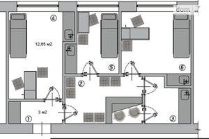 Сдается в аренду объект сферы услуг 16.65 кв. м в 1-этажном здании