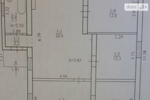 Продается одноэтажный дом 93 кв. м с гаражом