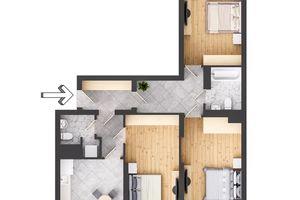 Продается 3-комнатная квартира 92.5 кв. м в Трускавце