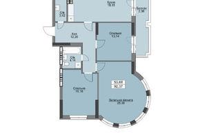 Продается 3-комнатная квартира 99.46 кв. м в Вышгороде