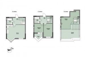 Продается 3-комнатная квартира 116.27 кв. м в Вышгороде