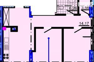 Продается 2-комнатная квартира 71.44 кв. м в Днепре