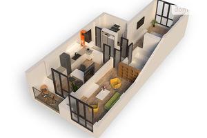 Продается 2-комнатная квартира 67.95 кв. м в Ирпене