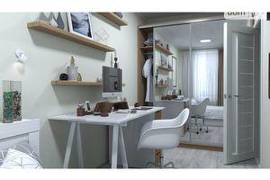 Продається 2-кімнатна квартира 41.39 кв. м у Одесі