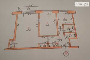 Продается 2-комнатная квартира 46 кв. м в Кегичевке
