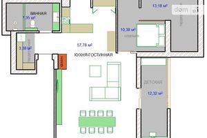 Продается 3-комнатная квартира 105 кв. м в Макарове